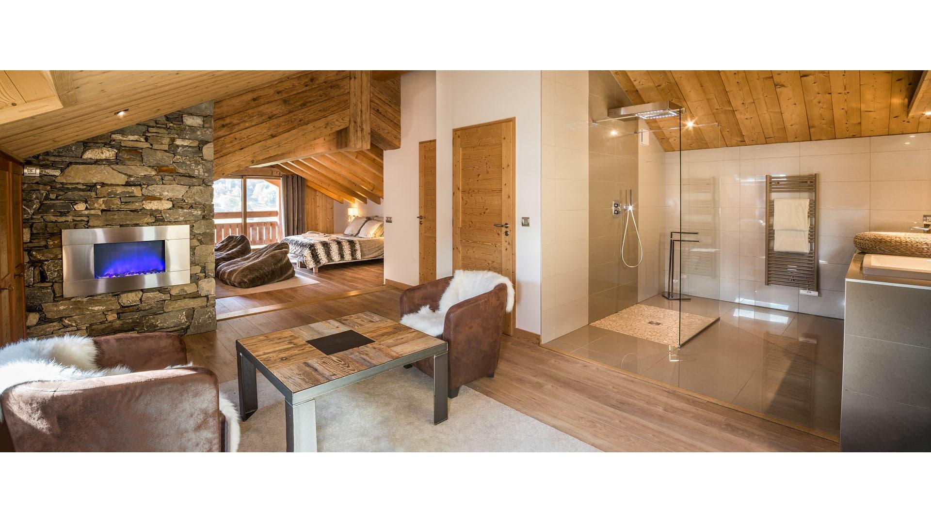 Villa Chalet Glitter, Location à Alpes du Nord