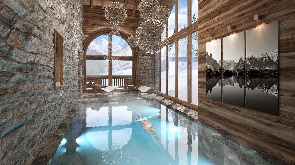 Villa Chalet Lalia, Location à Alpes du Nord