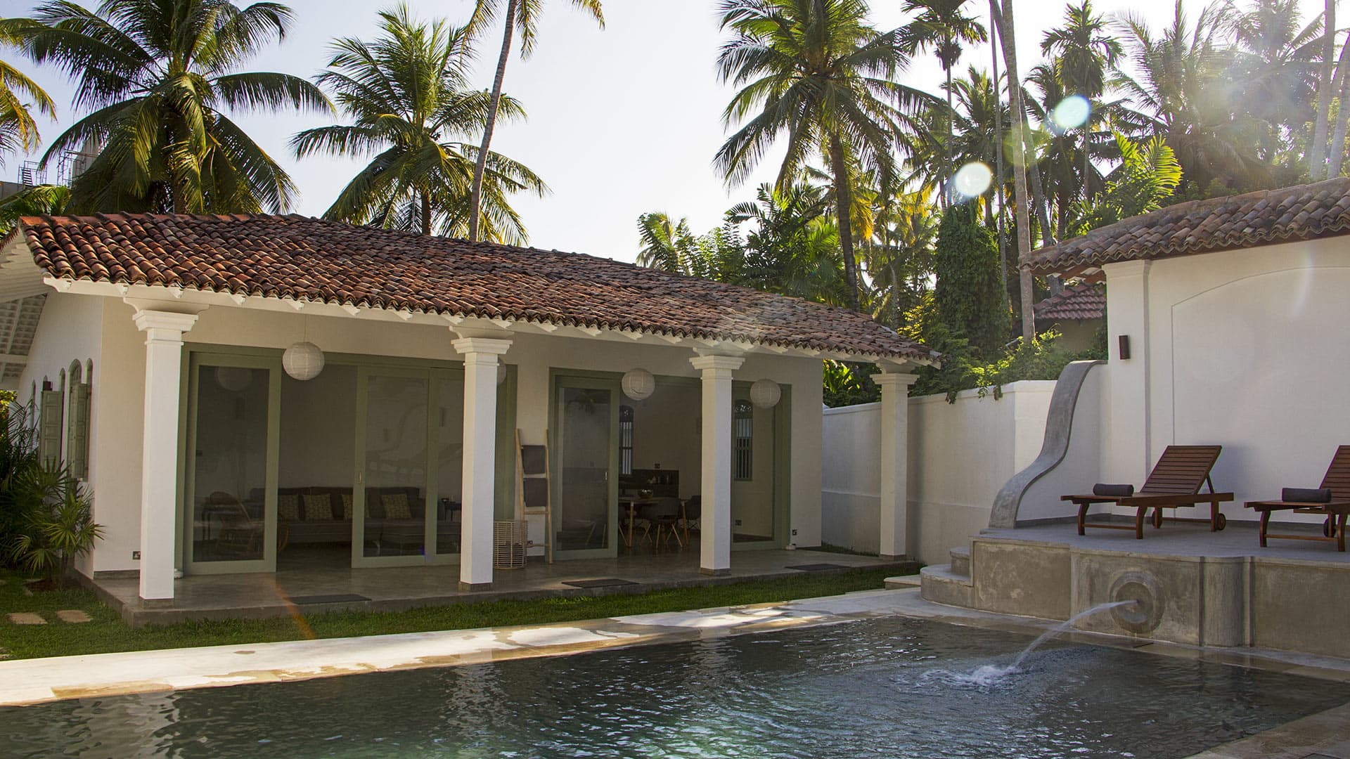 Villa Villa Giroka, Location à Galle