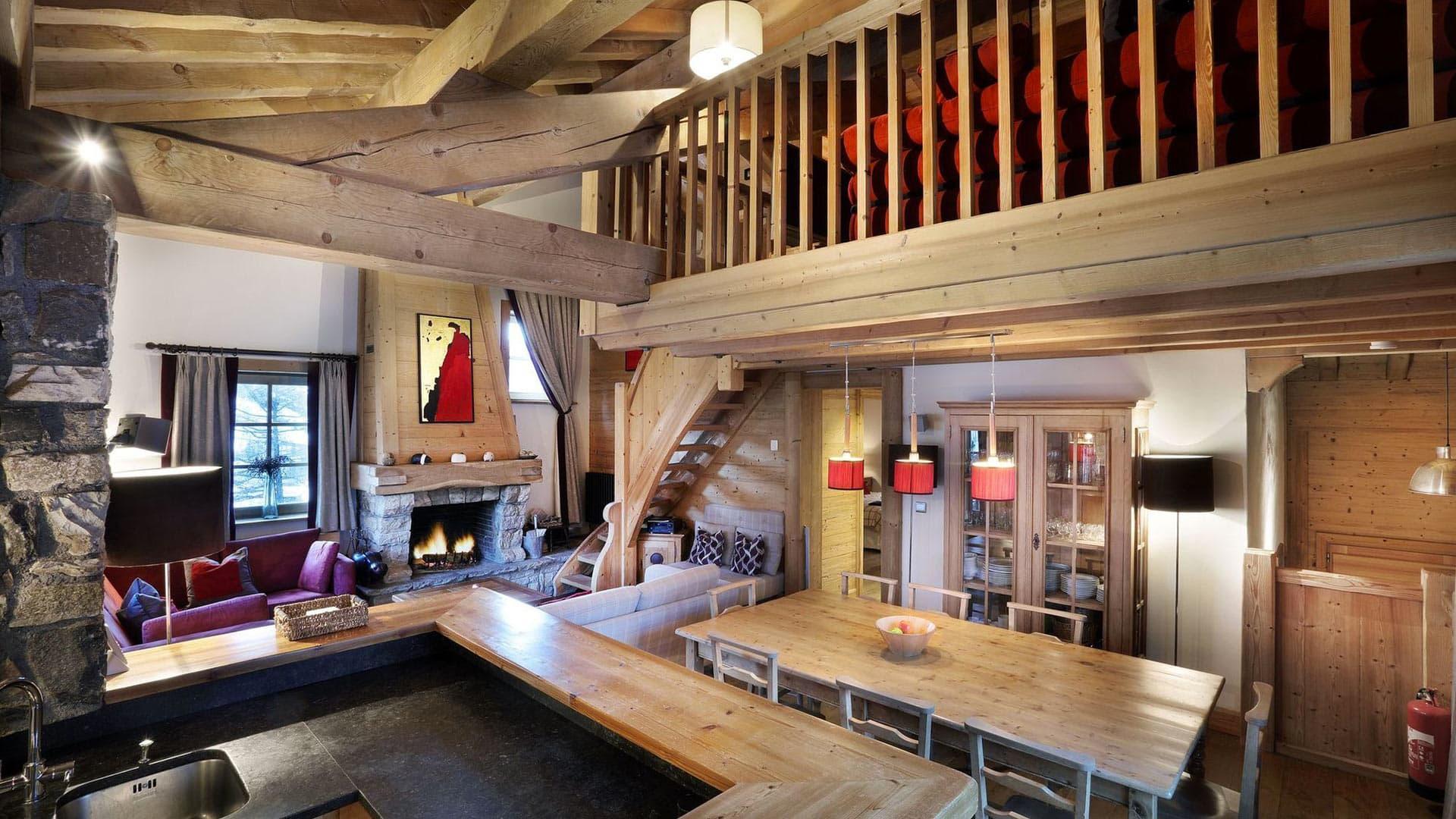 Villa Chalet Clot, Location à Alpes du Nord
