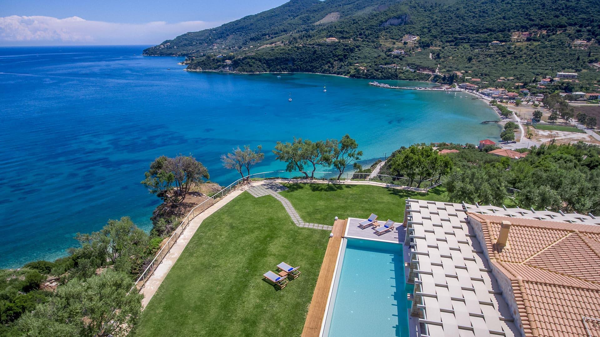 Villa Villa Afroditi, Location à Mer Ionienne