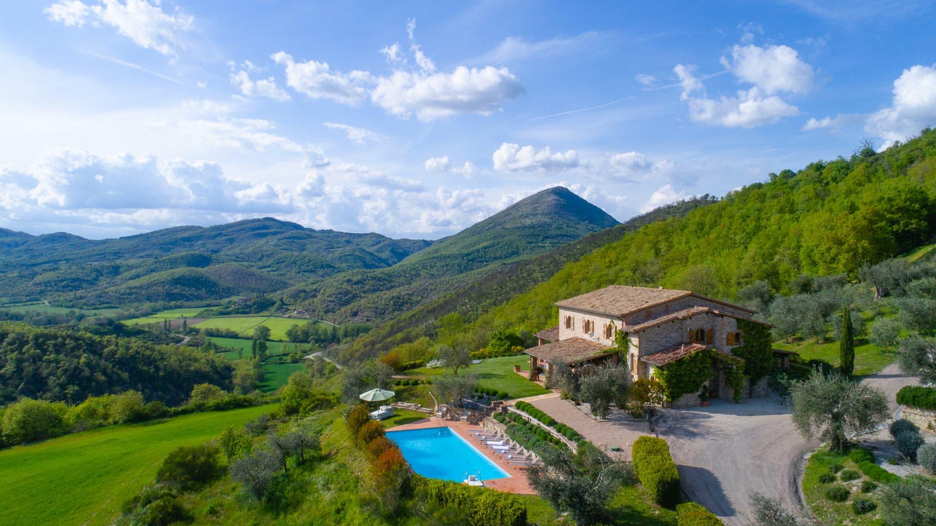 Villa Casa Olivi, Rental in Umbria