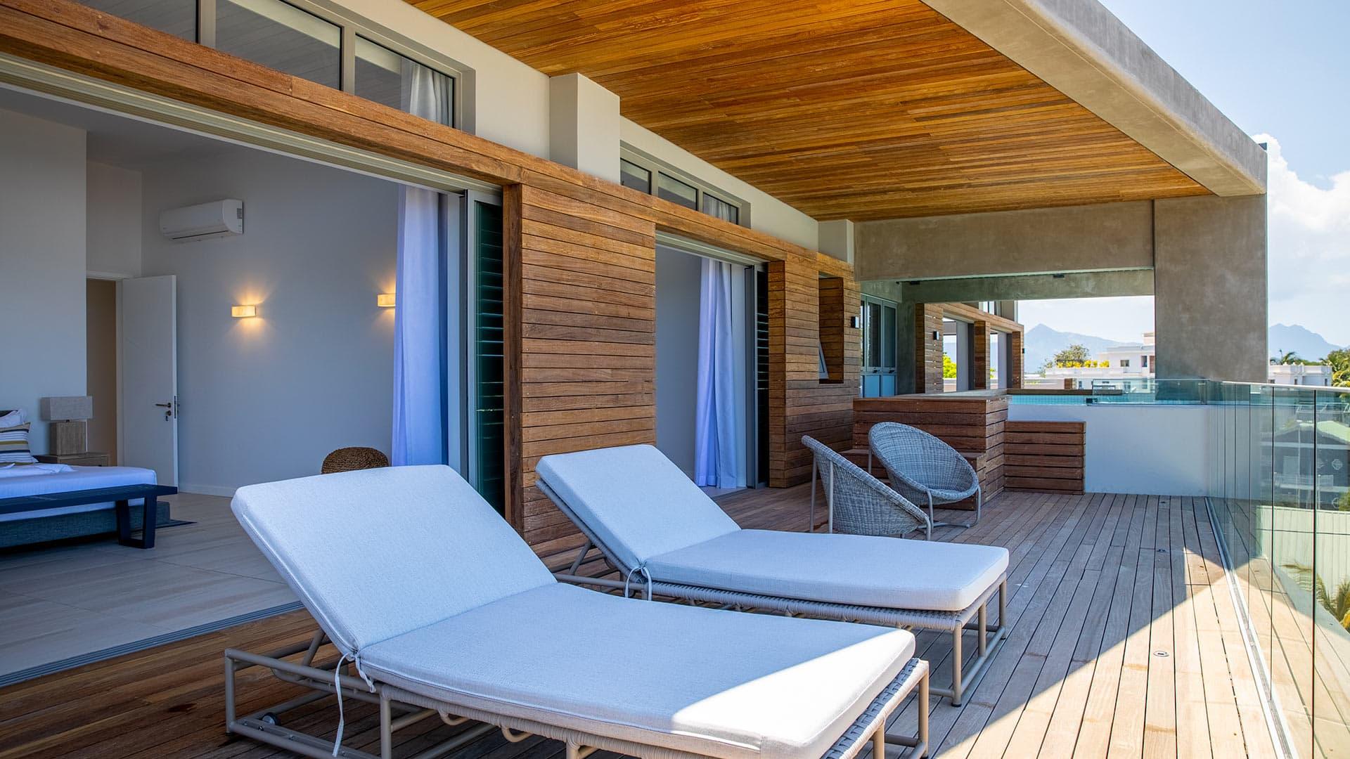 Villa Appartement Raven, Location à Île Maurice Ouest