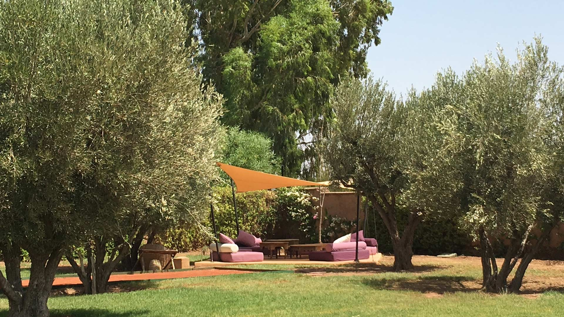 Photos de la villa villa noor palmeraie marrakech for Jardin villa maroc