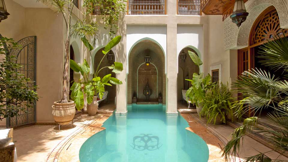 Villa Riad Monika, Location à Marrakech