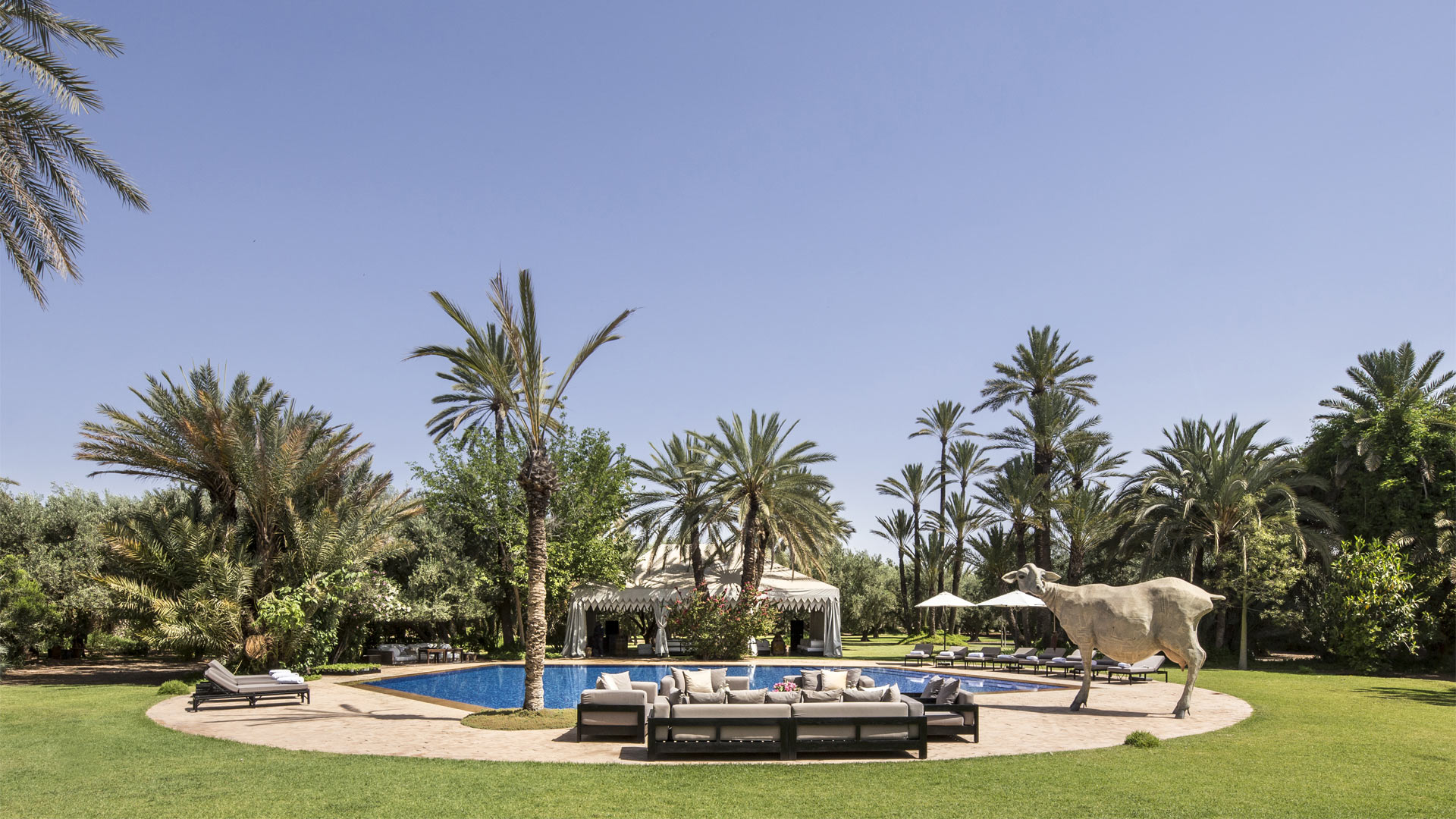 Villa Dar El Sadaka, Rental in Marrakech