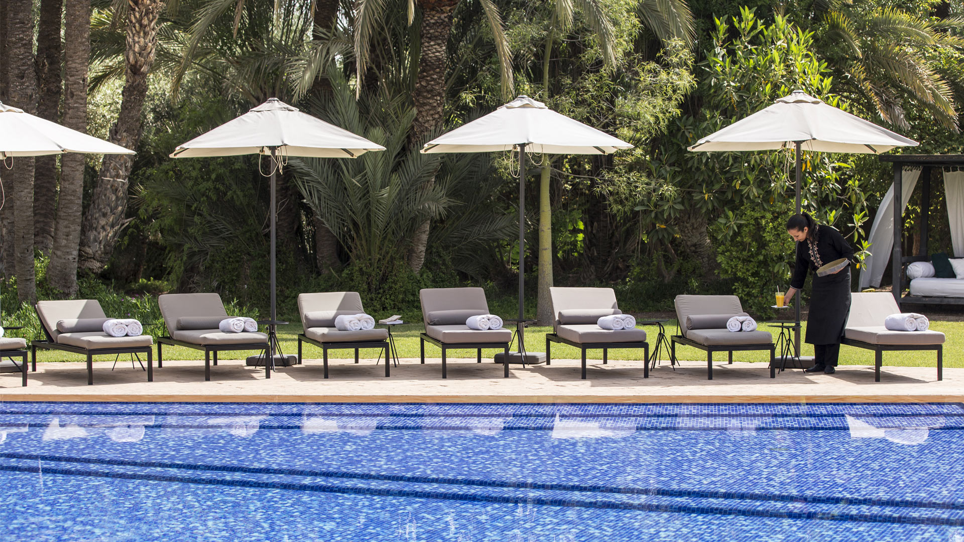 Villa Dar El Sadaka, Location à Marrakech