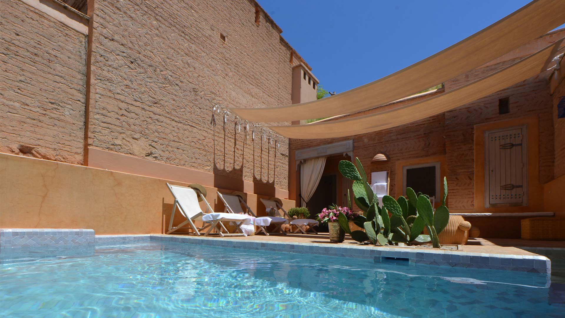 Villa Dar Housnia, Location à Marrakech